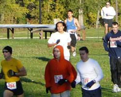 Photo of TurkeyTrot race at Haskell.