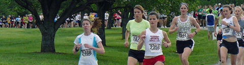 Ohoto of 2009 KC Corporate Challenge women's 5K.