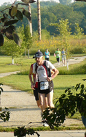 Photo of Dick Wilson at 3 miles.