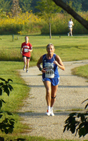 Photo of Ellen Young at 3 miles.