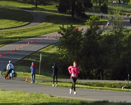 Photo of women's 5K at the KC Corporate Challenge.