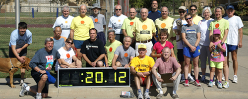 Photo of the Mad Dogs on the Septembe 29, 2012 John Bunce Run.