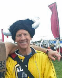 Photo of Keith Dowell at the April 27 Warrior Dash in Kansas City.