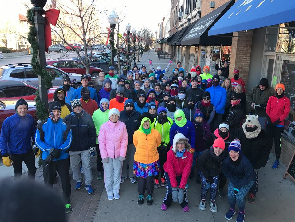 Photo of the Ad Astra Running New Year's Day Run - 2018.