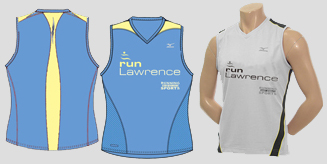 phioto of runLawence 2009 club jerseys.